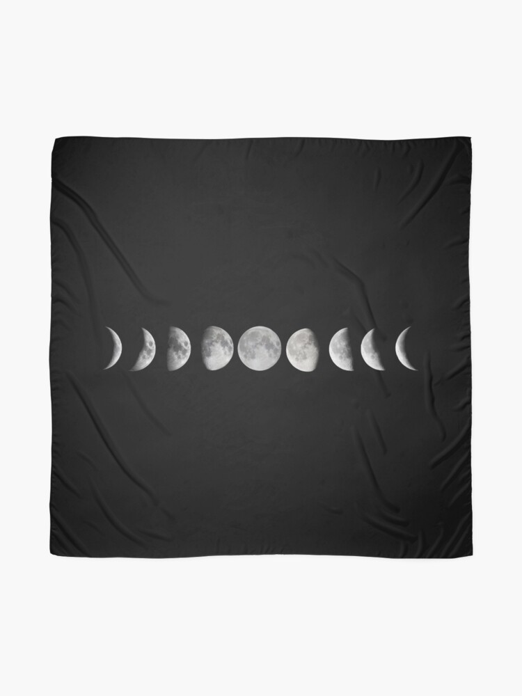 Alternate view of Moon phases Scarf