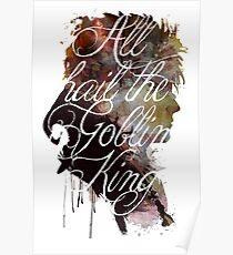 David Bowie // Labyrinth // All Hail the Goblin King Poster