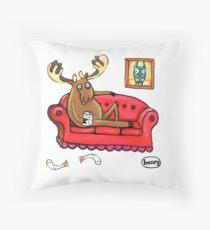 Couch Surfender Elch Dekokissen