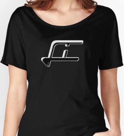 Scooter T-shirts Art: LI Logo Design Women's Relaxed Fit T-Shirt