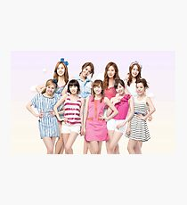 Girls Generation SNSD by bima Photographic Print