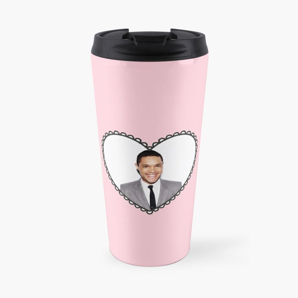 trevor noah heart Travel Mug