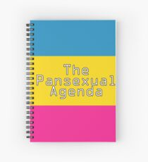 The Pansexual Agenda Spiral Notebook