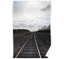 Rail Road Tracks Poster