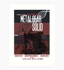 Massiv - Metal Gear Kunstdruck