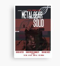 Solid - Metal Gear Canvas Print