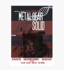 Solid - Metal Gear Photographic Print