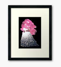 Rose Quartz Framed Print