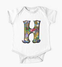 Doodle Letter H Kids Clothes