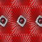 Red Pattern with a ruby  (2738 views) by aldona