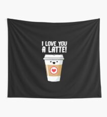 Latte Love Wall Tapestry