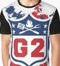 Gridiron Graffiti - Team G2 Graphic T-Shirt