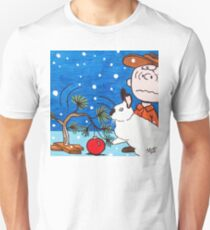 Christmas Card Series 1 - Design 7 Unisex T-Shirt