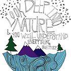 Einstein: Nature by Leah Flores
