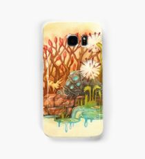 Teto and Baby Ohmu Watercolor Homage to Nausicaa Studio Ghibli Samsung Galaxy Case/Skin