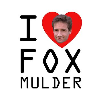 I Heart Fox Mulder by gnarlynicole