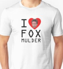 I Heart Fox Mulder T-Shirt