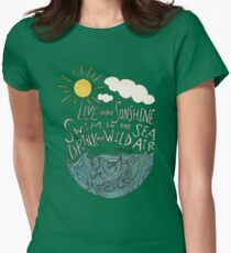 Emerson: Live in the Sunshine Women's Fitted T-Shirt