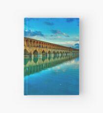 Si-o-Seh Pol (Bridge) - Isfahan - Iran - Daylight Hardcover Journal