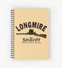 Longmire for Sheriff Spiral Notebook