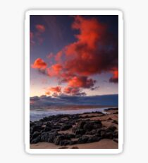 Rocky Sunset Sticker