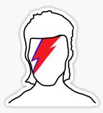Bowie: Aladdin Sane Sticker