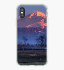 Pastoral Mount Baker Sunset iPhone Case