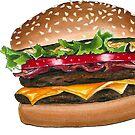 burger time by bleachy