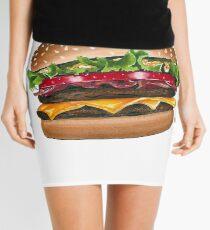 burger time Mini Skirt