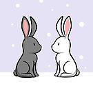 Snow Bunnies by Josh Bush