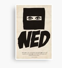 Ned. Canvas Print
