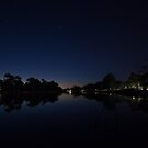 Wimmera River at Night by Joshua Westendorf