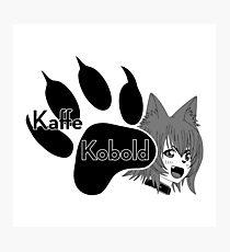 Kaffe Kobold Logo Photographic Print