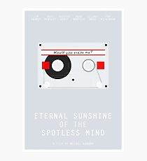 Eternal Sunshine of the Spotless Mind film poster Photographic Print