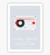 Eternal Sunshine of the Spotless Mind film poster Sticker