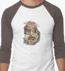 Fantacy Faces in my Fabric Men's Baseball ¾ T-Shirt