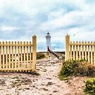 Port Fairy Lighthouse  (RVR2) by Ray Warren