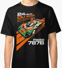 Camiseta clásica DU Mans Mazda 787B