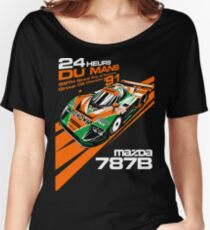 DU Mans Mazda 787B Women's Relaxed Fit T-Shirt