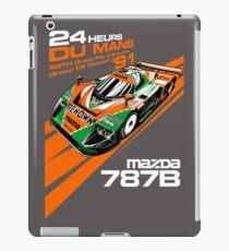 DU Mans Mazda 787B iPad Case/Skin