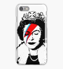 Ziggy Stardust Queen (David Bowie) iPhone Case/Skin