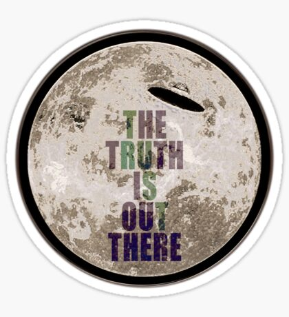 UFO The Truth is Out There Sticker