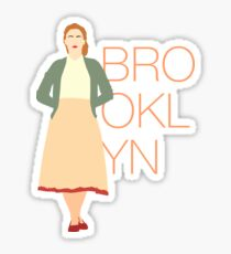 Brooklyn is Saoirse Ronan Sticker