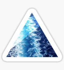 Sea  Triangle Sticker
