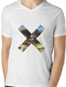 cross Mens V-Neck T-Shirt