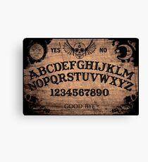 Classic ouija board Canvas Print & Ouija Board: Wall Art | Redbubble