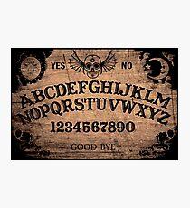 Classic ouija board Photographic Print