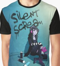 Zoe- Silent Scream Graphic T-Shirt