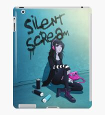 Zoe- Silent Scream iPad Case/Skin