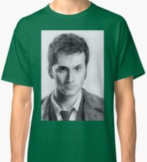 David Tennant Doctor Who No.10 Classic T-Shirt